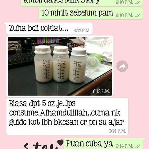 Penggalak Susu Milk Booster